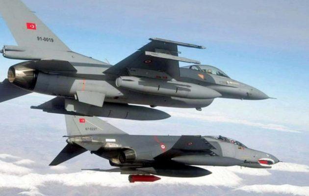 Ελληνικά μαχητικά αναχαίτισαν τουρκικά F-16 πάνω από τους Λειψούς