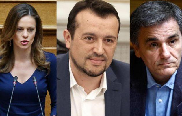 Αχτσιόγλου, Παππάς, Τσακαλώτος: Η κυβέρνηση θεσμοθετεί μηχανισμό μαζικών γρήγορων απολύσεων