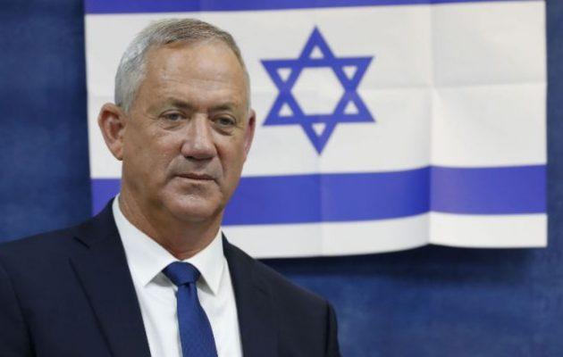Ισραήλ: Εντολή σχηματισμού κυβέρνησης στον Μπένι Γκαντς