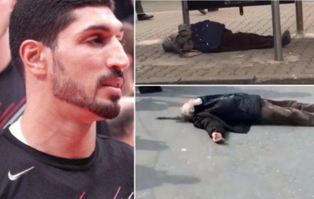 Ενές Καντέρ: Άνθρωποι πεθαίνουν στους δρόμους της Τουρκίας – «Κάνε κάτι παρανοϊκέ Ερντογάν»