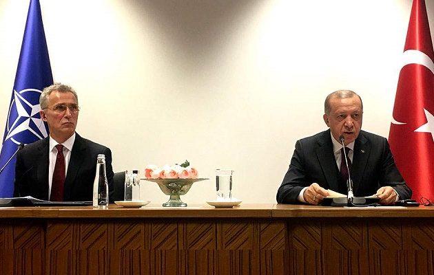 «Υπεύθυνη για όλα η Ελλάδα» είπε από τις Βρυξέλλες ο Ερντογάν