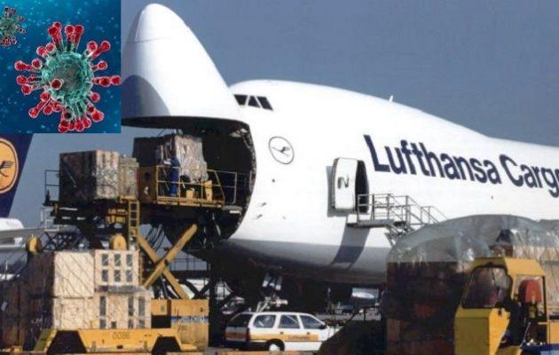 Κοροναϊός: Και από την πανδημία κερδίζουν οι Γερμανοί – Κέρδη για τη Lufthansa Cargo