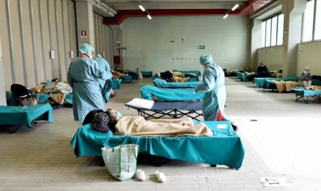 Άντζελο Μπορέλι: 630.000 πρέπει να είναι τα κρούσματα του Covid-19 στην Ιταλία