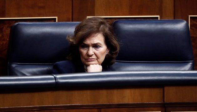 Διαγνώστηκε με Covid-19 η αντιπρόεδρος της ισπανικής κυβέρνησης