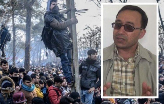 Κούρδος σοσιαλιστής πολιτικός: Ο Ερντογάν έχει στείλει τζιχαντιστές στα σύνορα με την Ελλάδα