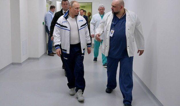 Θετικός στον Covid-19 ο γιατρός που συναντήθηκε με τον Πούτιν (βίντεο)