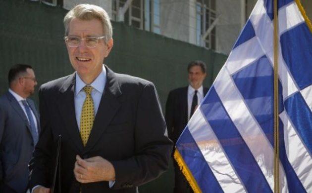 Τζ. Πάιατ: Οι ΗΠΑ στηρίζουν το κυριαρχικό δικαίωμα της Ελλάδας να προστατεύει τα σύνορά της
