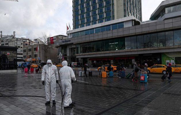 Κοροναϊός: 168 νεκροί και πάνω από 10.000 τα κρούσματα στην Τουρκία