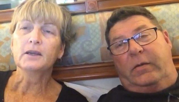 Ζευγάρι που ήταν σε καραντίνα μιλά για τα συμπτώματα του κοροναϊού Covid-19