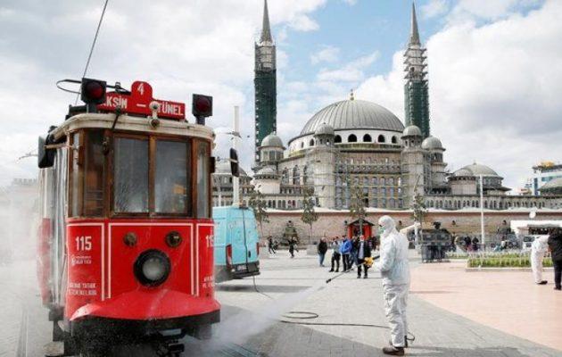 Τουρκία: 2.805 οι νεκροί από τον κορωνοϊό – Μείωση κρουσμάτων για πρώτη φορά μετά από 20 ημέρες