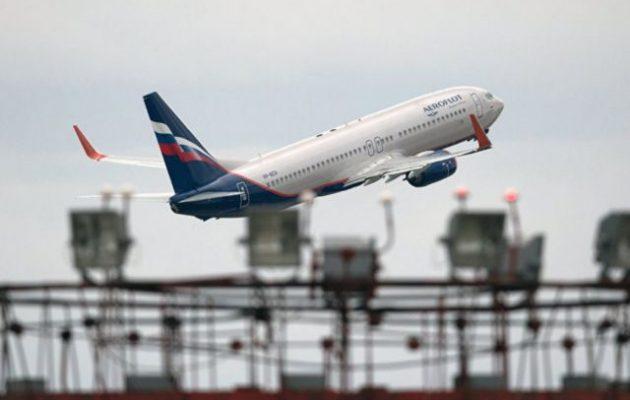 Ρωσία: Διακοπή όλων των διεθνών πτήσεων επιβατικών αεροσκαφών