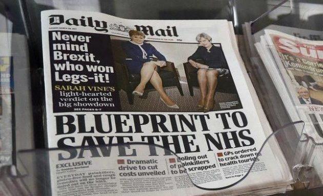 Η Daily Mail μειώνει τους μισθούς των στελεχών της λόγω κορωνοϊού