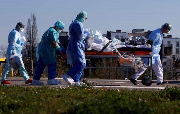 Ο κοροναϊός σκότωσε 1.341 ανθρώπους σε μια μέρα στη Γαλλία