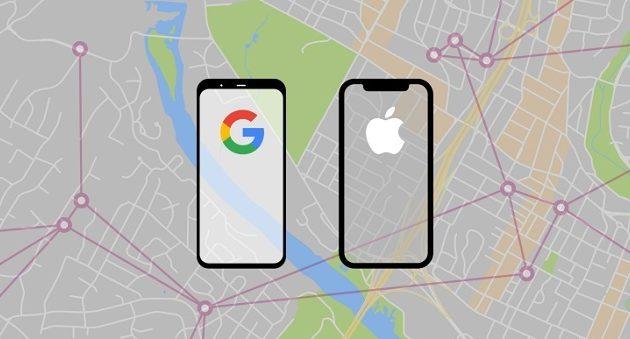 Κοροναϊός: Google και Apple θα εντοπίζουν επαφές μέσω κινητών