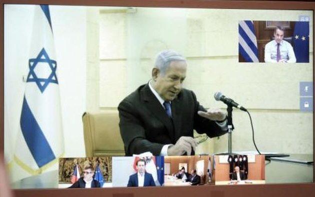 Τηλεδιάσκεψη με έξι ηγέτες που αντιμετώπισαν επιτυχώς το πρώτο κύμα κορωνοϊού είχε ο Μητσοτάκης