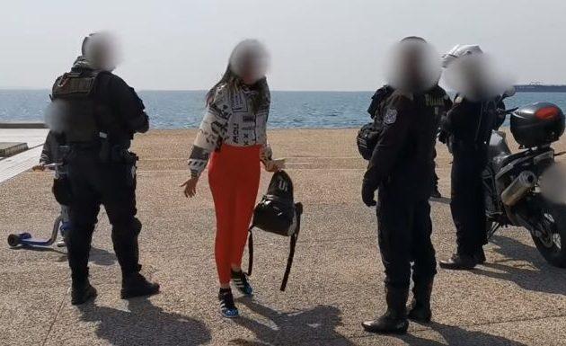 Εκτός ελέγχου Θεσσαλονικιά επειδή δεν της επιτρέπουν να γυμναστεί κατηγορεί τη μασονία (βίντεο)