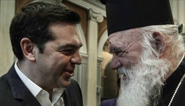 Ευχές Τσίπρα στον αρχιεπίσκοπο Ιερώνυμο για ταχεία ανάρρωση