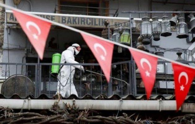 574 οι νεκροί στην Τουρκία – 27.069 τα επιβεβαιωμένα κρούσματα