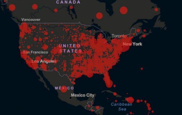 Περισσότερα από 300.000 κρούσματα Covid-19 στις ΗΠΑ
