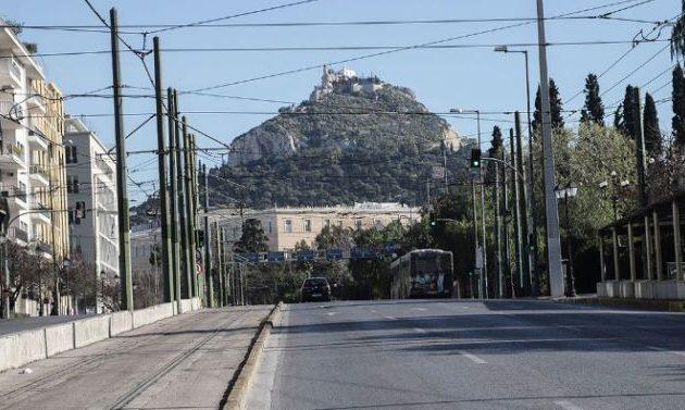Σε ποιους δρόμους του Κέντρου της Αθήνας «περιορίζονται» τα ΙΧ λόγω κορωνοϊού – Ελεύθερα τα ΜΜΜ