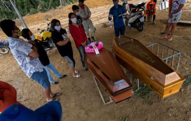 Βραζιλία κορωνοϊός: 26.754 θάνατοι και 438.238 κρούσματα