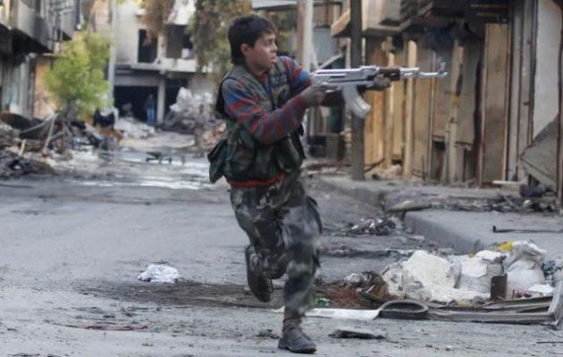 Τουρκικό «θινκ τανκ» παραδέχθηκε κατά λάθος ότι ο Ερντογάν στρατολογεί «παιδιά στρατιώτες»
