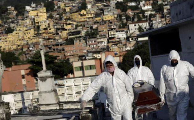 Κορωνοϊός Covid-19: Περισσότεροι από 25.000 θάνατοι στη Βραζιλία