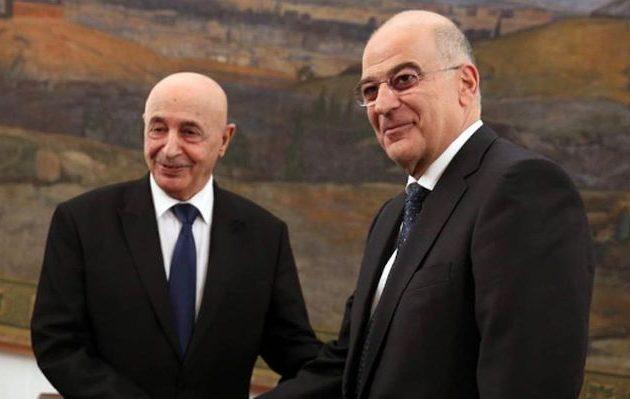 Ενεργός ο ρόλος της Ελλάδας στην ειρήνευση της Λιβύης: Ο Δένδιας μίλησε τηλεφωνικά με τον Σάλεχ