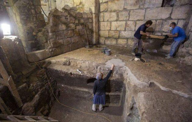 Μυστηριώδεις υπόγειοι θάλαμοι ανακαλύφθηκαν κοντά στο Τείχος των Δακρύων