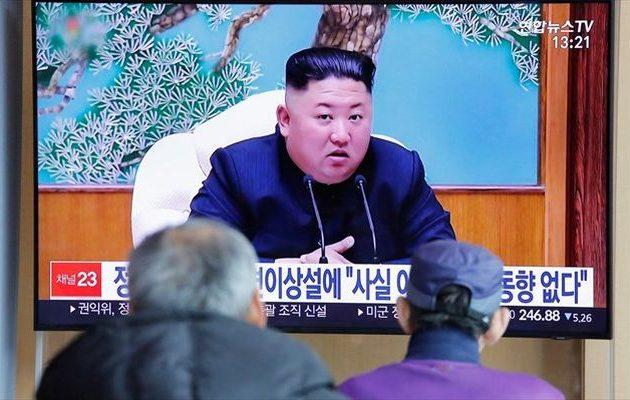 Εμφανίστηκε ο Κιμ Γιονγκ Ουν – Εγκαινίασε εργοστάσιο φωσφορικών λιπασμάτων
