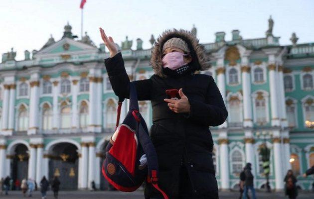 Ρεκόρ θανάτων από Covid-19 σε μια μέρα στη Ρωσία