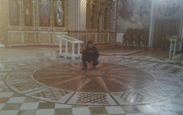 Θα ξηλωθεί ο Ήλιος της Βεργίνας από εκκλησία στη Βόρεια Μακεδονία;