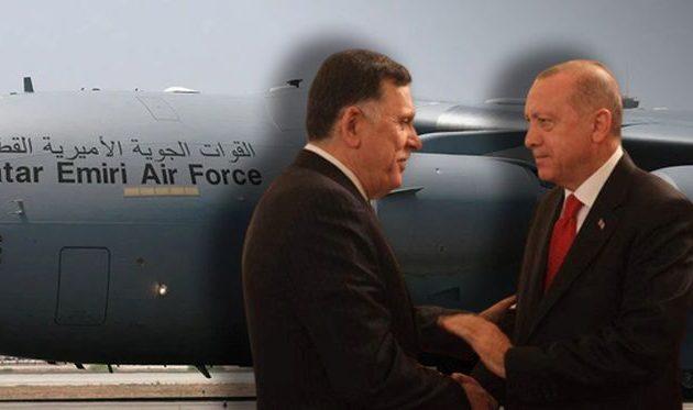 Handelsblatt: Η Τουρκία έστειλε τις τελευταίες επτά ημέρες 10 αεροπλάνα με όπλα στη Λιβύη