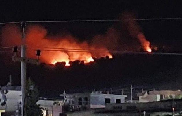 Τουρκικά μαχητικά βομβάρδισαν το χωριό Γιουσίφ Αγά στο ιρακινό Κουρδιστάν
