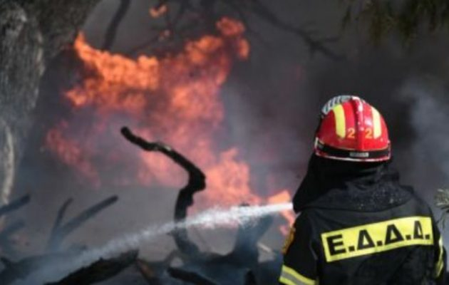 Εάν δεν αλλάξουν οι συνθήκες ίσως τεθεί υπό έλεγχο η πυρκαγιά στο Άγιο Όρος