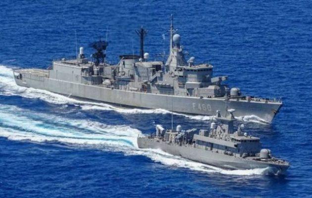 Αποπλέουν τρία πλοία του Πολεμικού Ναυτικού μετά τις απειλές Ερντογάν για γεωτρήσεις