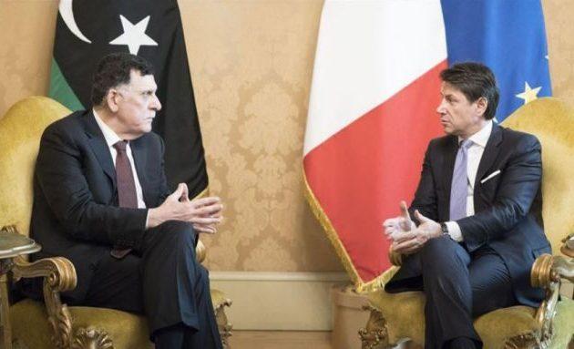 Ο Σαράτζ ζήτησε από την Ιταλία «πόρους» για να μειώσει την εξάρτησή του από την Τουρκία