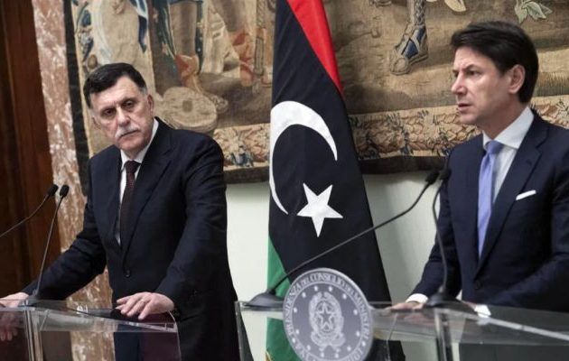 Ο Ιταλός πρωθυπουργός συναντήθηκε στη Ρώμη με τον Τουρκολίβυο τζιχαντιστή ομόλογό του