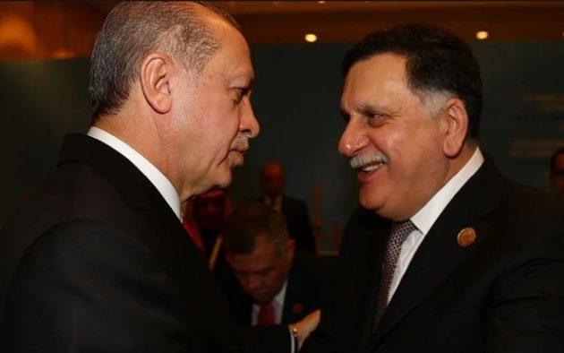 Ο Σαράτζ της Τρίπολης στον Ερντογάν για να πάρει «γραμμή»