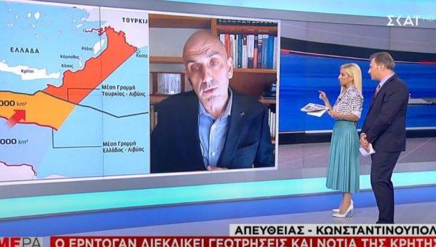 Με τη συνεργασία των ισλαμιστών της Τρίπολης ο Ερντογάν σχεδιάζει γεωτρήσεις νότια της Κρήτης