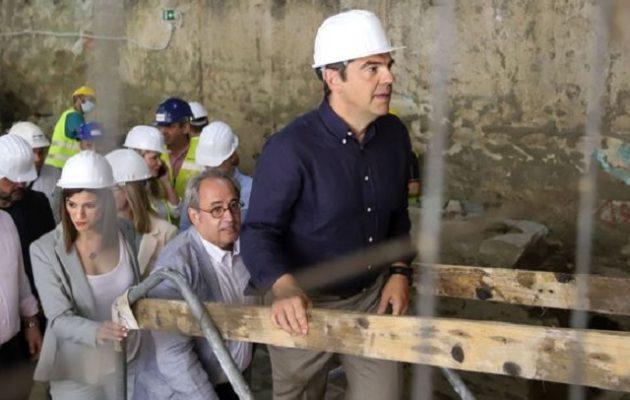 Τσίπρας: Το Μετρό Θεσσαλονίκης είναι η μεγαλύτερη απάτη του Μητσοτάκη