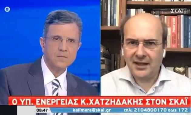Χατζηδάκης: Εάν η Τουρκία θέλει συμφωνία σαν της Ιταλίας το συζητάμε (βίντεο)