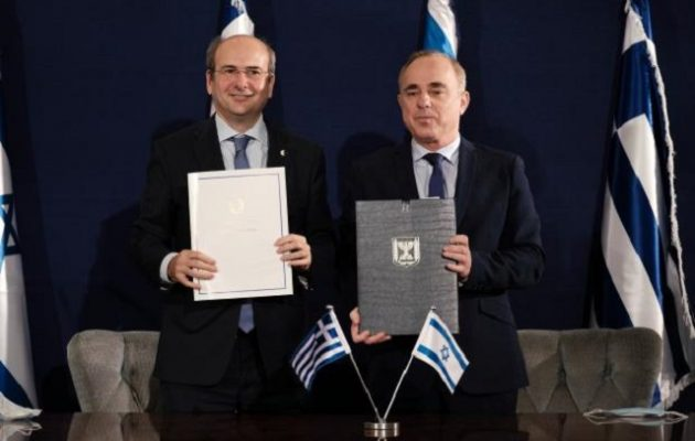 Κοινή Διακήρυξη Χατζηδάκη-Στάινιτς για ενεργειακή συνεργασία Ελλάδας και Ισραήλ