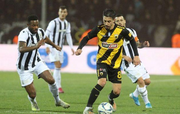 Μεγάλη νίκη της ΑΕΚ επί του ΠΑΟΚ (0-2) στην Τούμπα