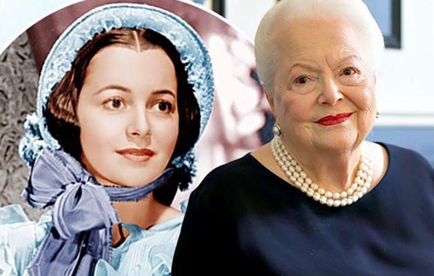 Πέθανε σε ηλικία 104 ετών η Ολίβια Ντε Χάβιλαντ η σταρ της ταινίας «Όσα παίρνει ο άνεμος»