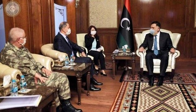 Ο Σαράτζ υπέγραψε νέα στρατιωτική συμφωνία με τους Τούρκους και τους έδωσε βάσεις και «διπλωματική ασυλία»