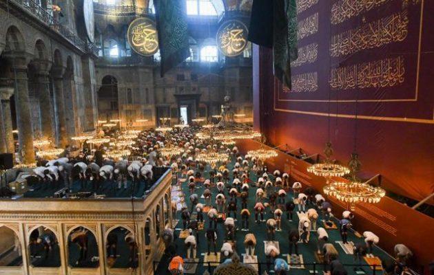 Η Ελληνορθόδοξη Αρχιεπισκοπή Αμερικής κατήγγειλε στον ΟΗΕ τη μετατροπή της Αγίας Σοφίας σε τζαμί