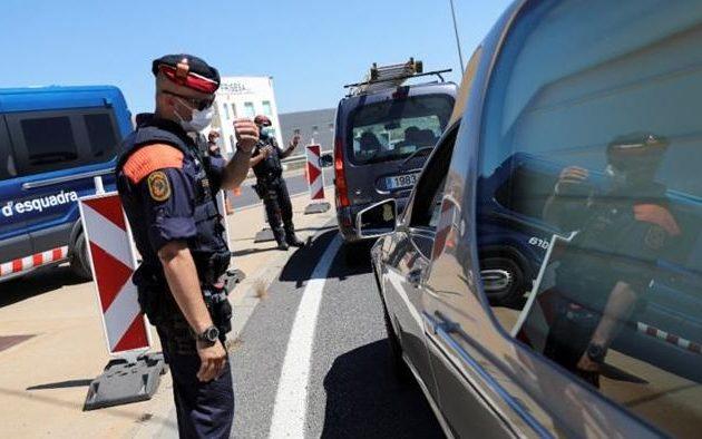 160.000 άνθρωποι στην Καταλονία επιστρέφουν σε περιορισμό – Νέο κύμα κορωνοϊού