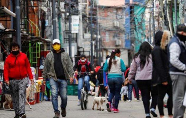 Covid-19 Αργεντινή: 2.000 θάνατοι και 111.147 κρούσματα