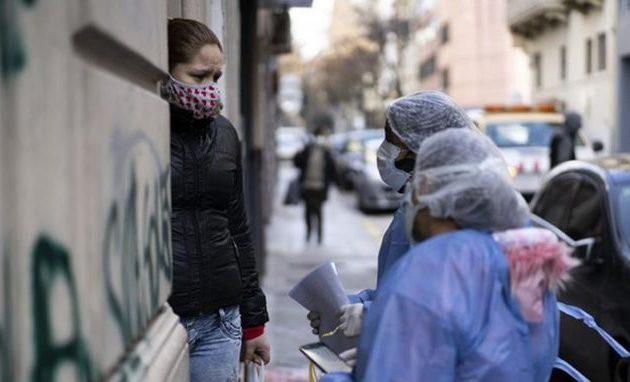 Περισσότερα από 100.000 κρούσματα κορωνοϊού στην Αργεντινή